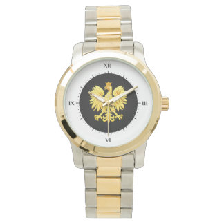 Polish eagle wristwatch