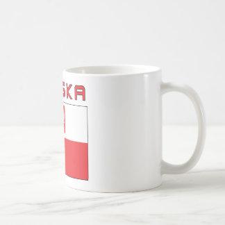Polish Falcon Flag With Polska Coffee Mug