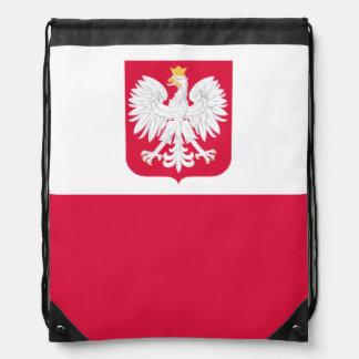 Polish flag Backpack