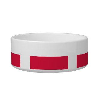 Polish Flag Bowl