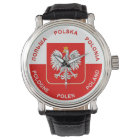 Polish Flag colours with White Eagle Watch
