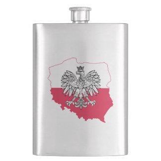 Polish Flag Flask