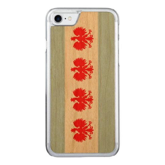 Polish Flag of Chicago Carved iPhone 8/7 Case