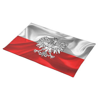 Polish flag placemat