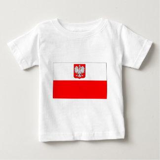 Polish Flag With Eagle Baby T-Shirt