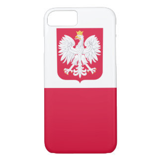 POLISH FLAGE IPHONE CASE
