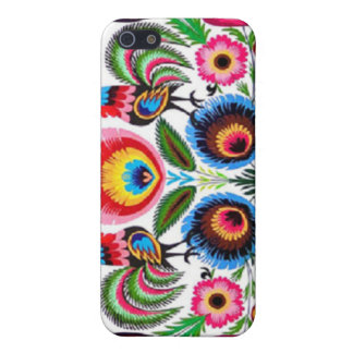 Polish folk art iPhone case