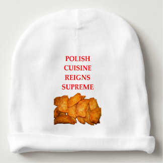 polish food baby beanie