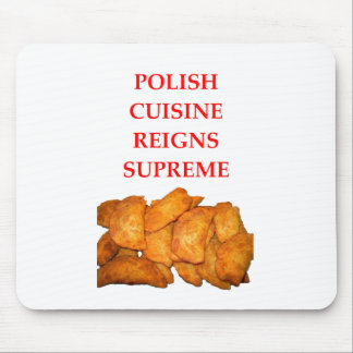 polish food mouse pad
