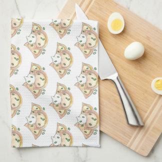 Polish Food Potato Dumplings Pierogies Sour Cream Kitchen Towel
