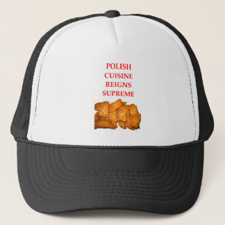 polish food trucker hat