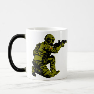 Polish Freedom Soldier Magic Mug