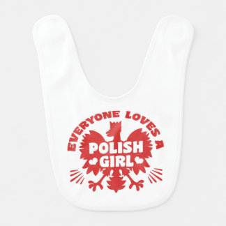 Polish Girl Bib