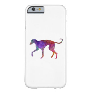 Polish Greyhound in watercolor Barely There iPhone 6 Case