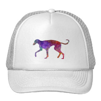 Polish Greyhound in watercolor Trucker Hat
