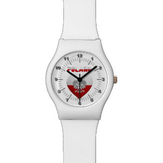 Polish heart flag watch