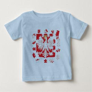 Polish Heritage Puzzle Baby T-Shirt