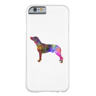 Polish Hunting Dog in watercolor Barely There iPhone 6 Case
