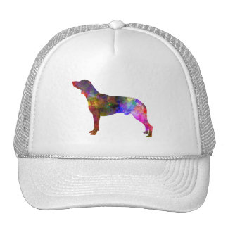 Polish Hunting Dog in watercolor Trucker Hat