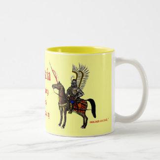 Polish hussar cool military mug