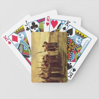 Polish Insurrectionists of the 1863 Rebellion (oil Poker Deck