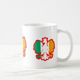 POLISH/IRISH FLAG COFFEE MUG