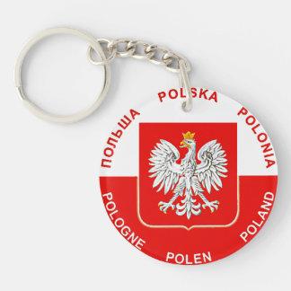 Polish Keychain