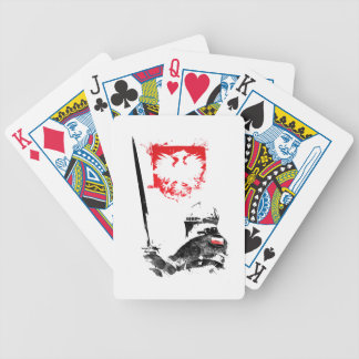 Polish Knight Bicycle Playing Cards