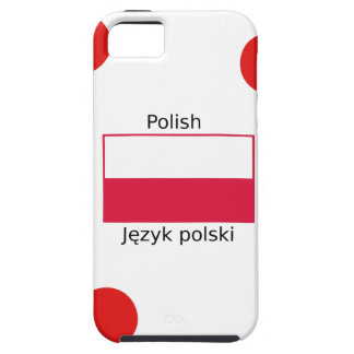 Polish Language And Poland Flag Design iPhone 5 Case