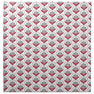 Polish Love Cloth Napkins