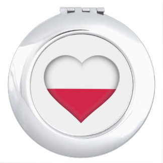 Polish Love Compact Mirror