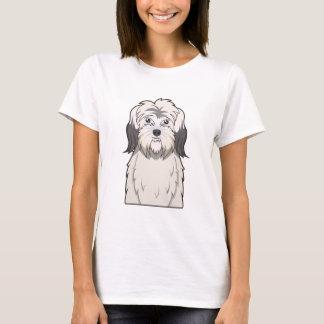 Polish Lowland Sheepdog Cartoon T-Shirt