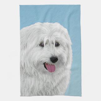 Polish Lowland Sheepdog Kitchen Towel