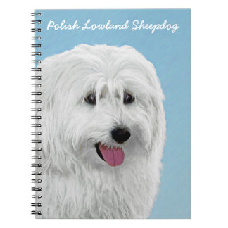Polish Lowland Sheepdog Notebooks