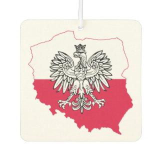 Polish Map Flag Air Freshener