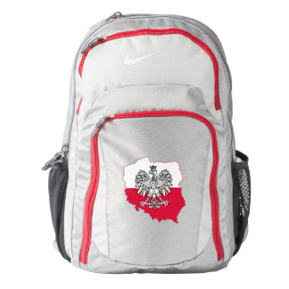 Polish Map Flag Nike Backpack