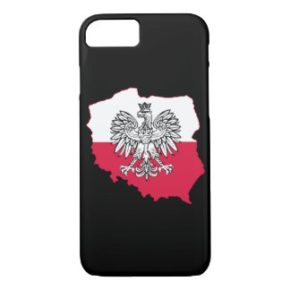 Polish Map Flag Phone Case