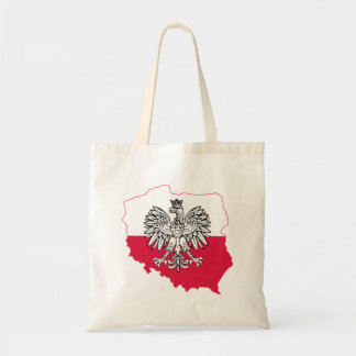 Polish Map Flag Tote