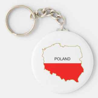 Polish Map png Keychain