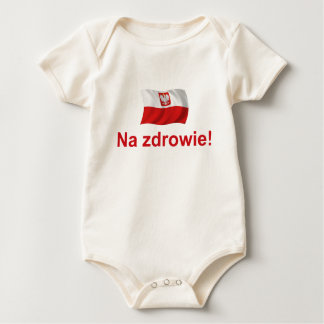 Polish Na zdrowie Baby Bodysuit
