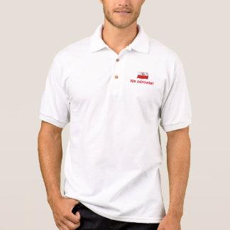 Polish Na zdrowie! (To your health!) Polo Shirt