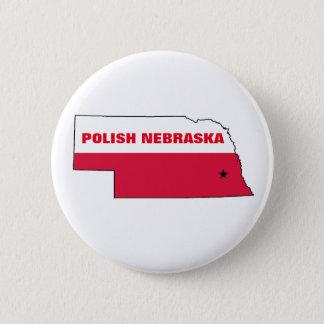 POLISH NEBRASKA 2 INCH ROUND BUTTON