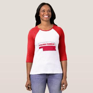 POLISH POWER NEBRASKA T-Shirt