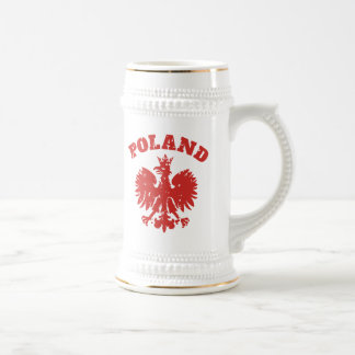 Polish Pride Eagle Symbol Beer Stein