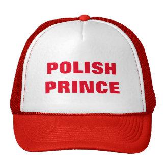 POLISH PRINCE TRUCKER HAT
