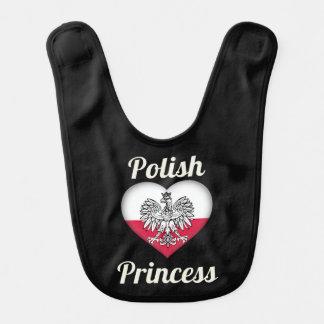 Polish Princess Baby Bib