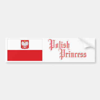 Polish Princess, Bumper Sticker