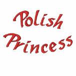 Polish Princess Cute Embroidered Hoodie