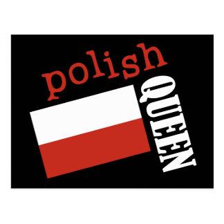 Polish Queen Postcard