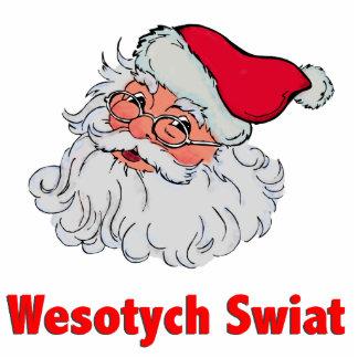 Polish Santa Claus #2 Photo Sculpture Ornament